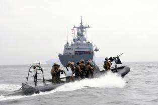 해적대응 민관군 합동훈련